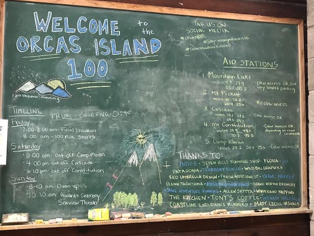 Orcas Island 100 ~スタートまで